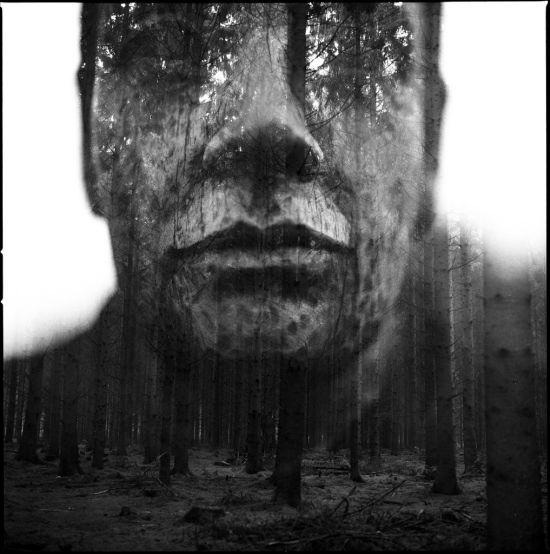 Florian Imgrund fotografia analógica dupla exposição pessoas e natureza