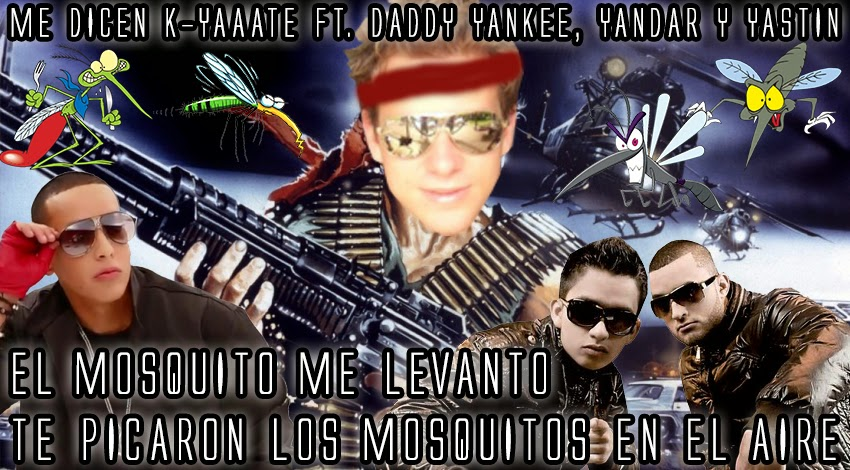 Mosquitos humor cancion