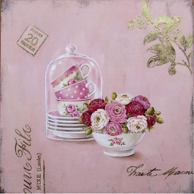 Картинки для декупажа цветы прованс 5