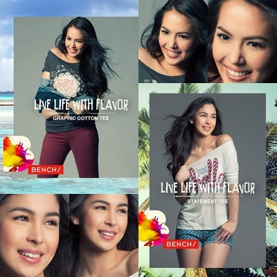 Julia Montes and Julia Barretto for Bench Summer 2014