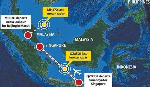 MH370, MH17 and QZ8501 Conspiracy