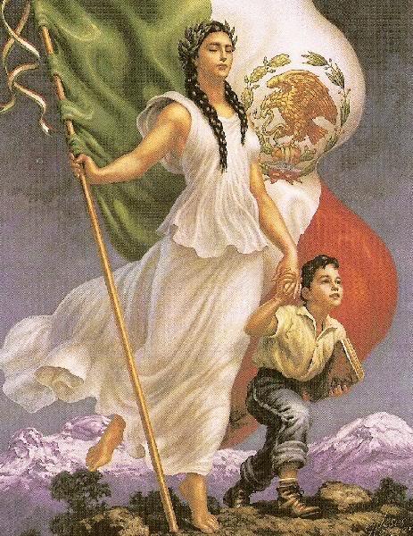 Asamblea al vapor sentimientos a la nacion viva mexico - Baneras de obra ...