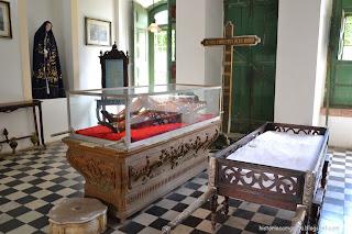 Historia de Salvador - escultura do Senhor Morto, igreja 3a do Carmo