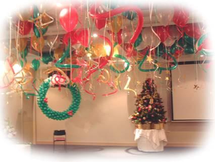 Decoraci n navide a con globos decorando mejor - Decoracion de habitaciones en navidad ...