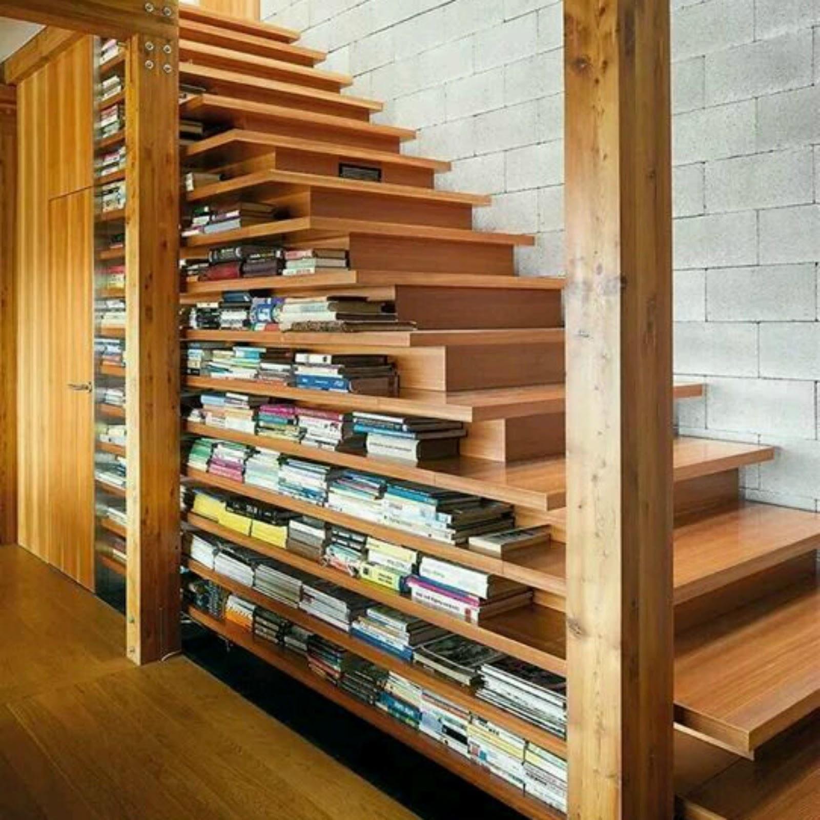 La shop de tejemanejes y punto escaleras y cajones for Escalera libreria