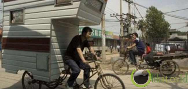 12 Sepeda dengan Desain yang paling tidak Lazim 5