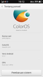Custom Rom COLOR OS v.2 for Oppo Neo 3 R831K