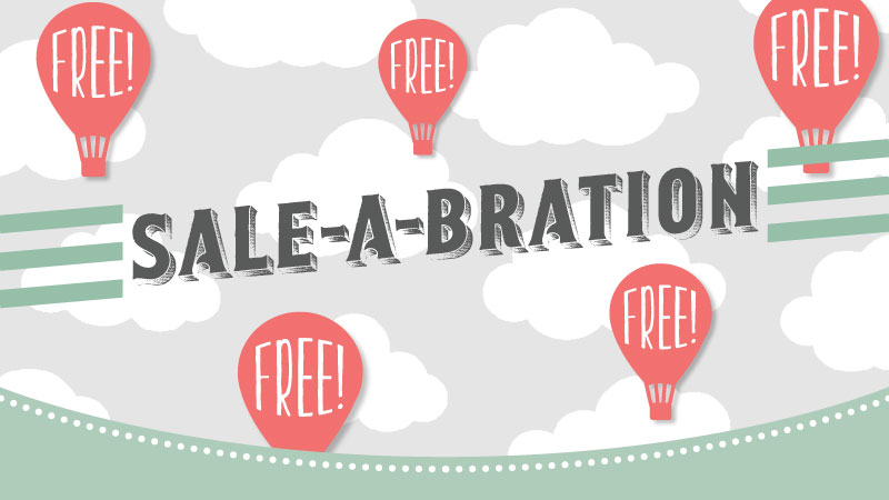Through March 31st, choose any Sale-a-Bration item for free with a $50.00 order