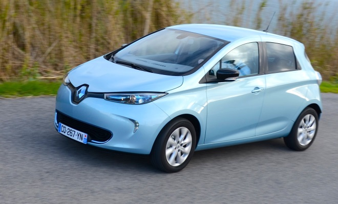 Renault Zoe Electric Car Review