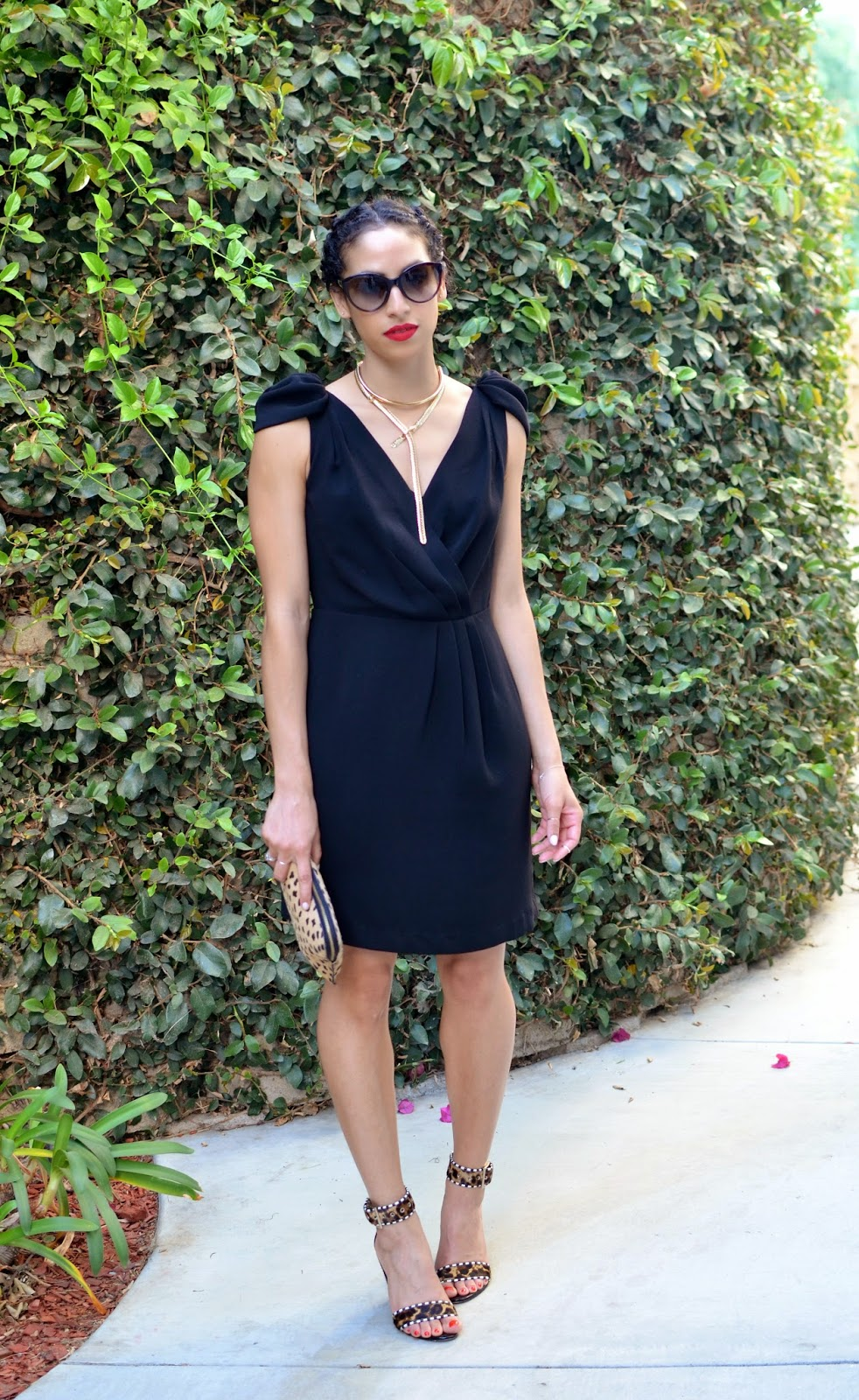 Ann Taylor Dress B Brian Atwood Heels C O Dsw Fallon Lariat J Crew Choker Madewell Clutch Similar Style