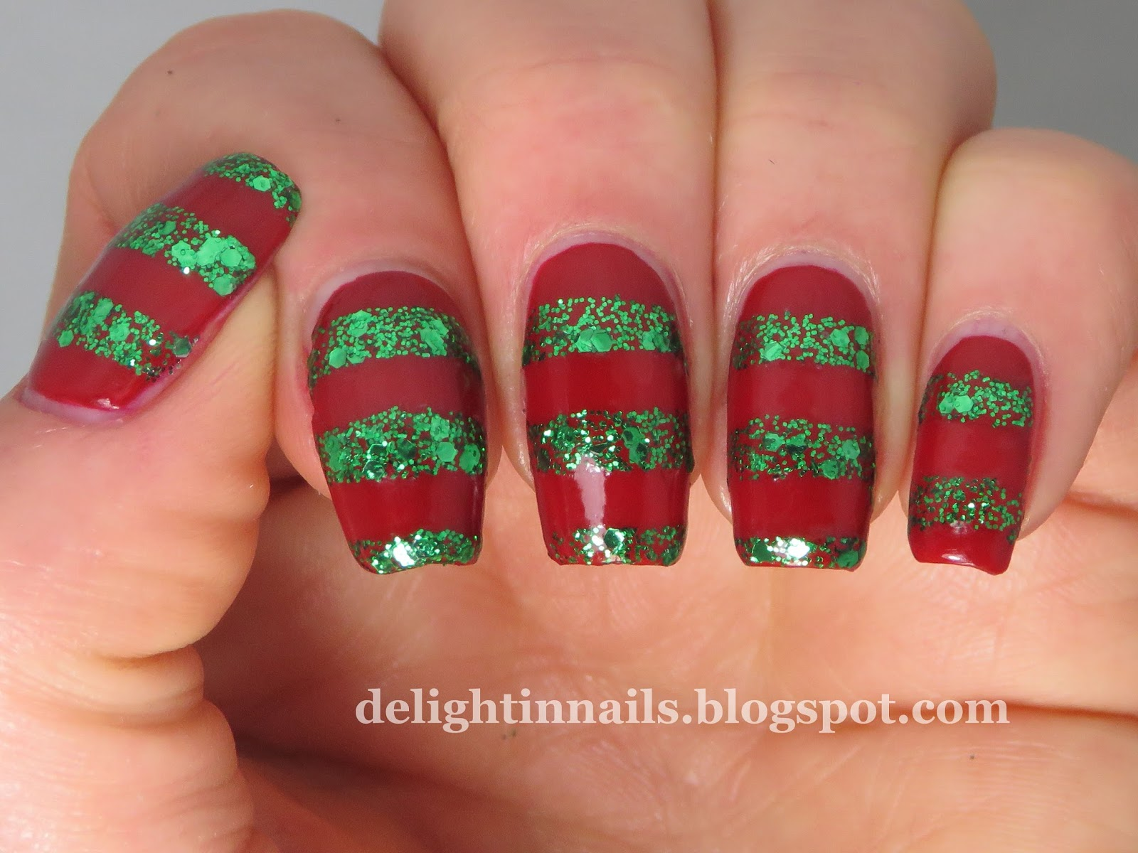 Delight In Nails: 40 Great Nail Art Ideas - Glitter Topper or Flakie