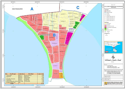 Peta Zonasi berbasis Resiko Bencana di Kawasan Pangandaran