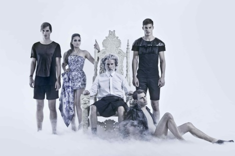 Models wearing Ada + Nik SS14 Collection