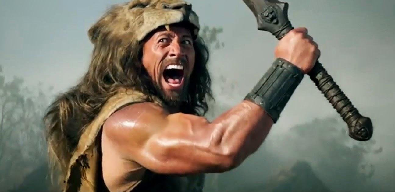 Comercial estendido e vídeo dos bastidores do épico Hércules, com Dwayne Johnson e an McShane