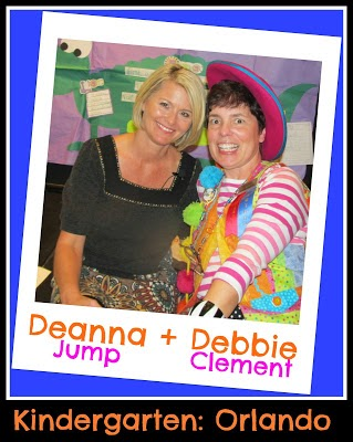 Deanna Jump + Debbie Clement Join Forces for #TeacherFriends Twitter Chat