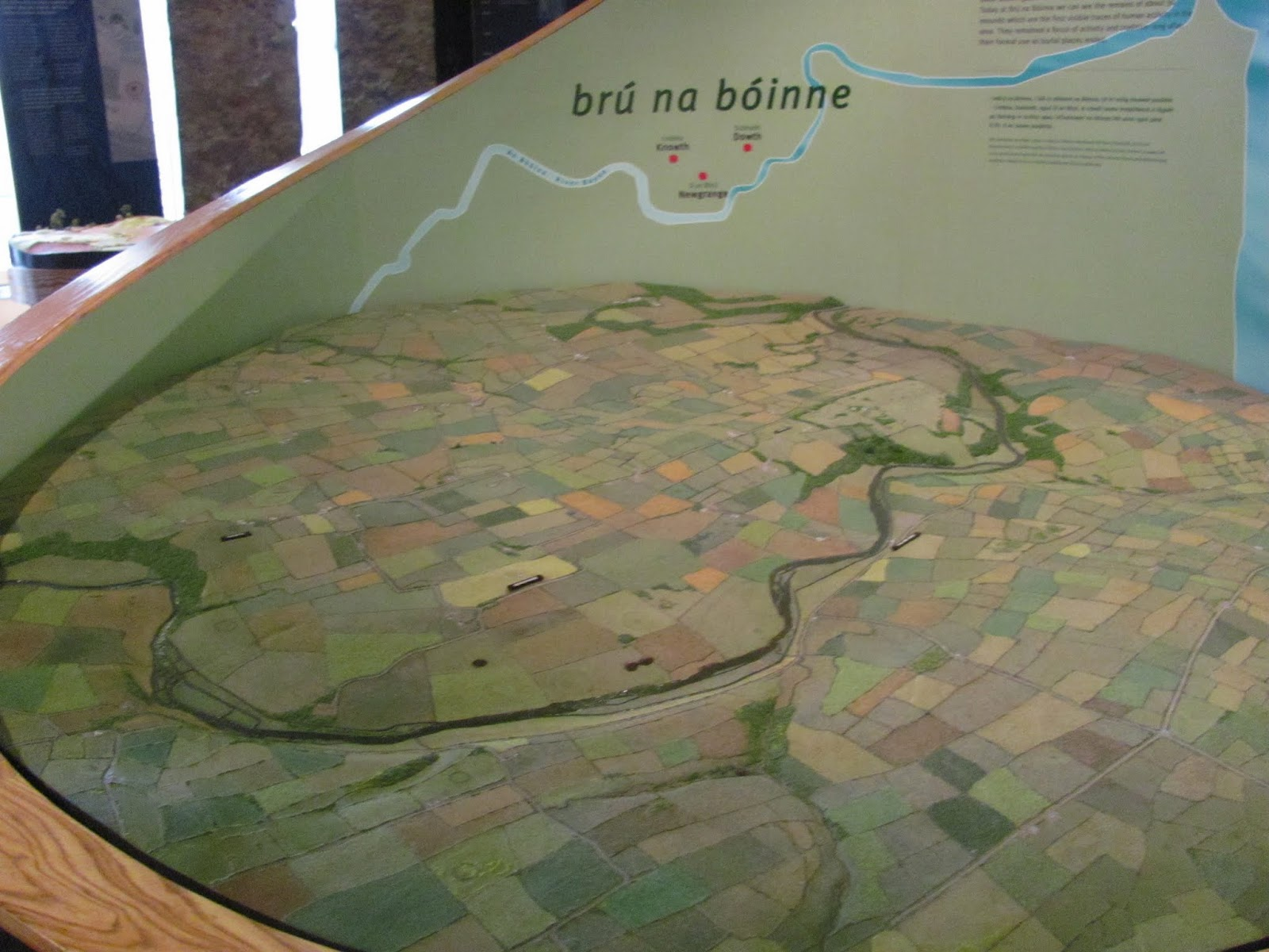 Valley Diorama Bru Na Boinne, Co. Meath Ireland