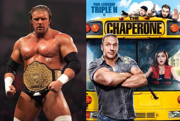 Triple H esposo de stephanie mcmahon en su única producción de cine como actor y gan carrera como luchador profesional