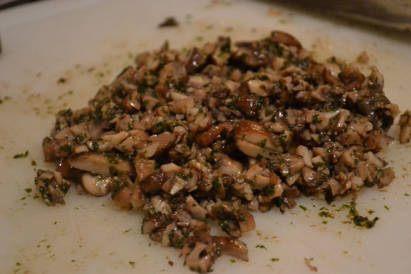 Much Ado About Somethin Mushroom Stuffed Sirloin