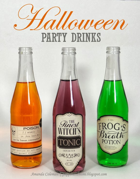 Halloween Party Drinks | popperandmimi.com