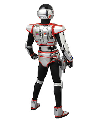 "Medicom RAH Metal Hero 1/6 Scale Special Megabeast Investigator Juspion 12"" Figure"