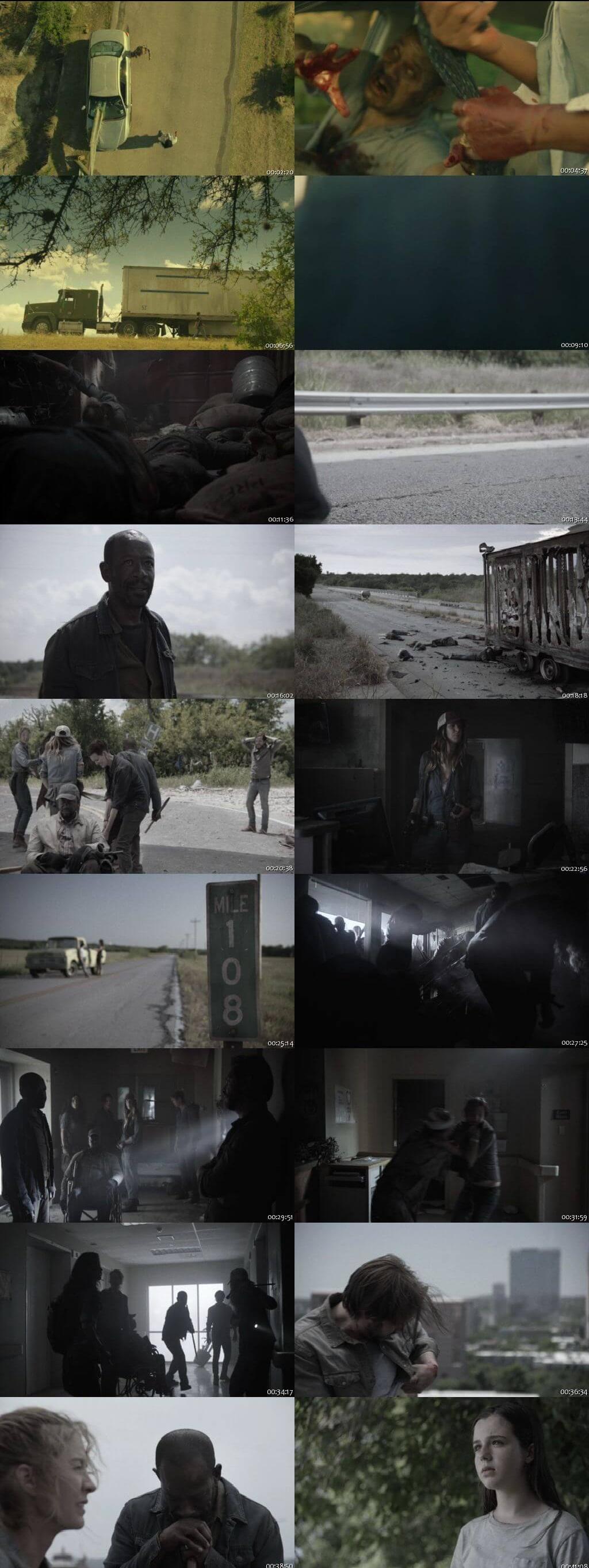 Screenshots Of English Show Fear the Walking Dead Season 04 Episode 14 2018 WEB-DL 720P 300MB