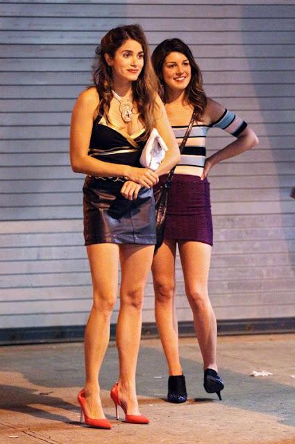 Nikki Reed & Shenae Grimes: 'Empire State' Sexy » Gossip | Nikki Reed