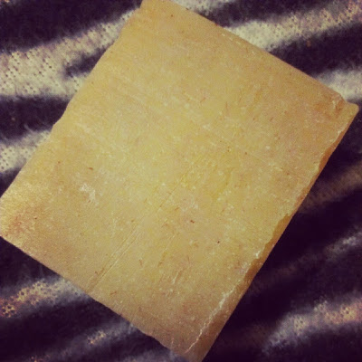 Lemongrass mini soap Visionary unwrapped