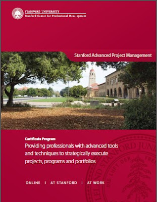 stanford advanced project management The stanford advanced project management program is a unique blend of cutting-edge stanford university research and proven techniques from.
