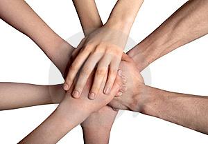 Com as mãos construímos um mundo melhor pra se viver