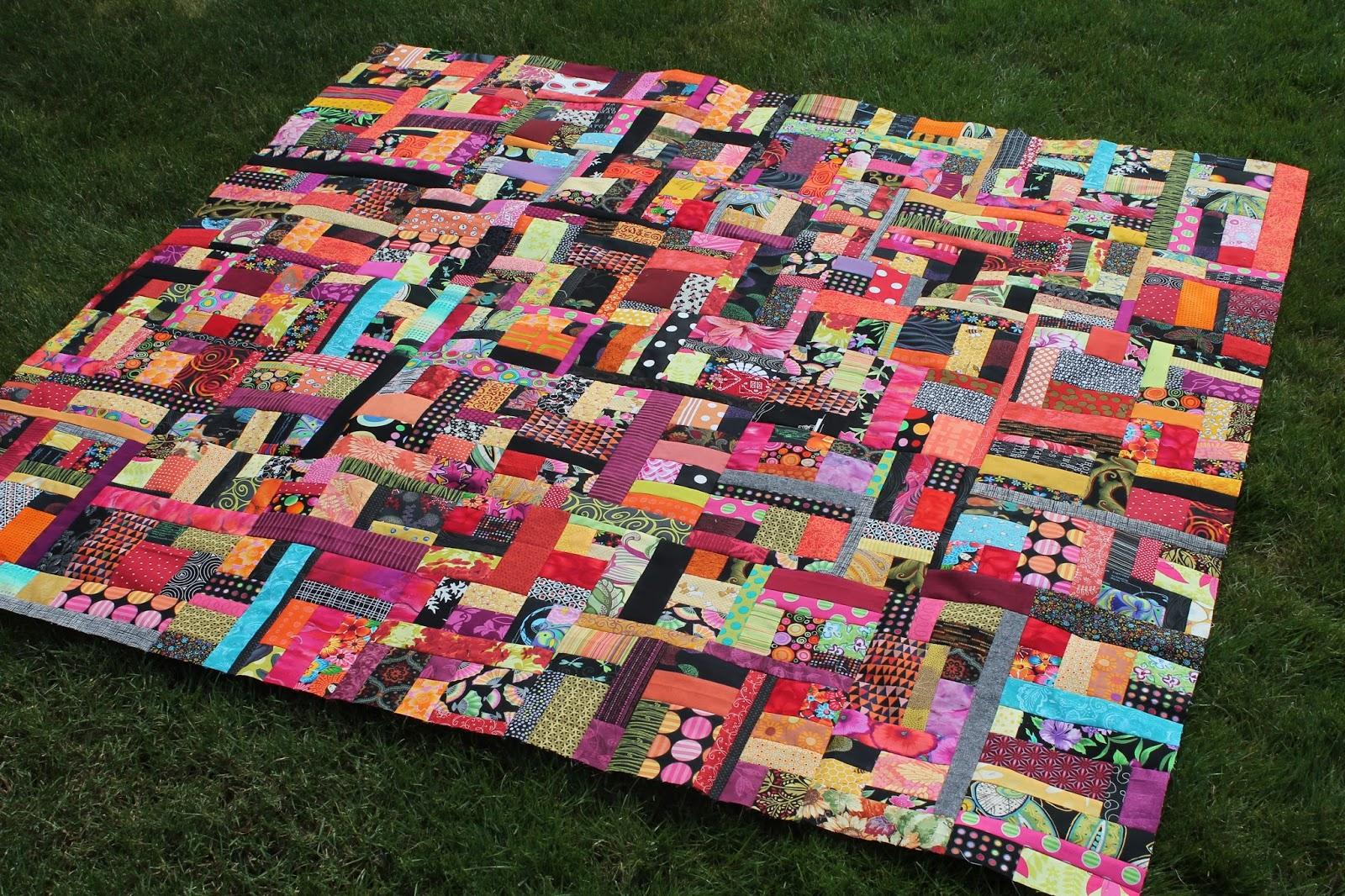 Quilting is more fun than housework oh scrap scrap for Scrap quilt