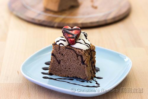 Chocolate Chiffon Cake02
