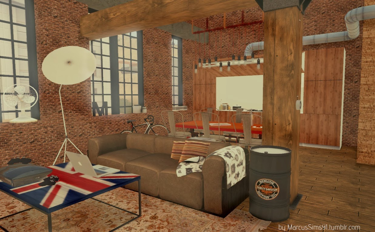 My Sims 3 Blog Urban Industrial Set By Marcussims91