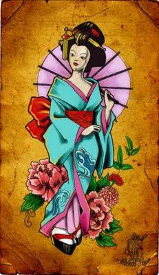 Dicas de desenhos de Tatuagens Japonesas