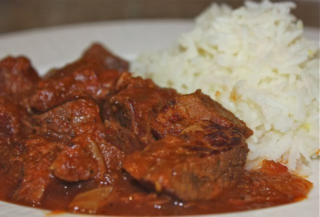 for this beef curry we used a supermarket beef joint labelled slow ...