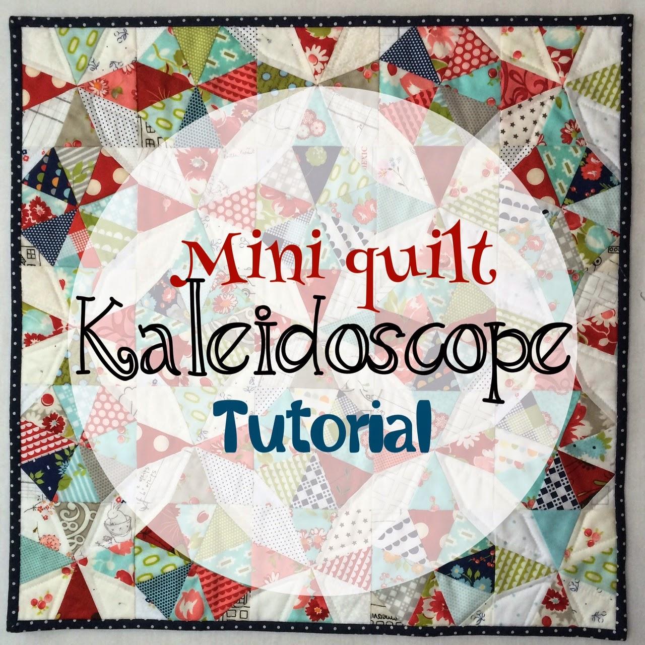 http://redrainbootshandmade.blogspot.com/2014/11/kaleidoscope-mini-quilt-or-pillow-sham.html