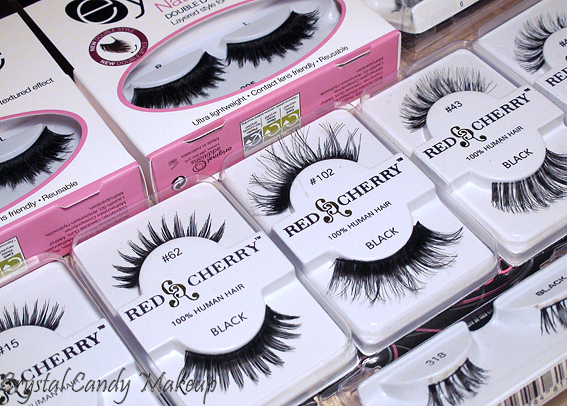 Commande Madame Madeline (Faux-cils) - Falsies - Ardell - Red Cherry - Eylure