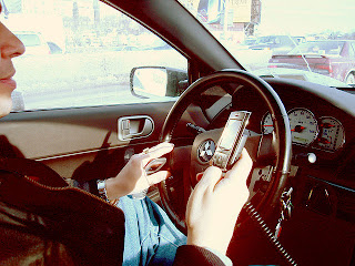 calling and driving