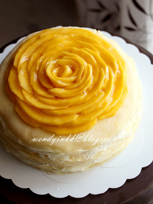 Table for 2.... or more: Mango Mille Crepe Cake