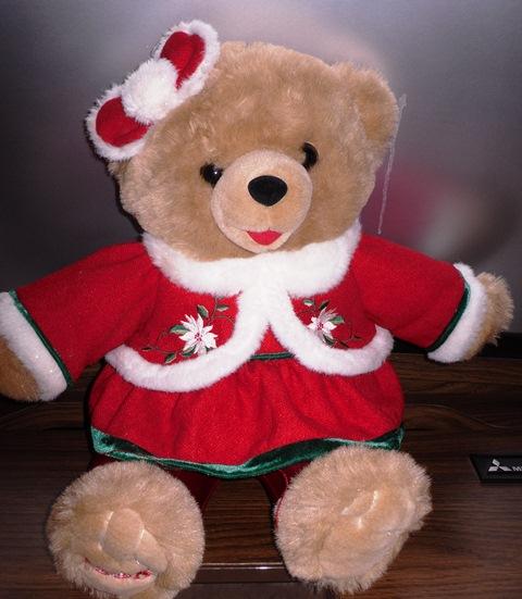 walmart snowflake christmas holiday teddy bears