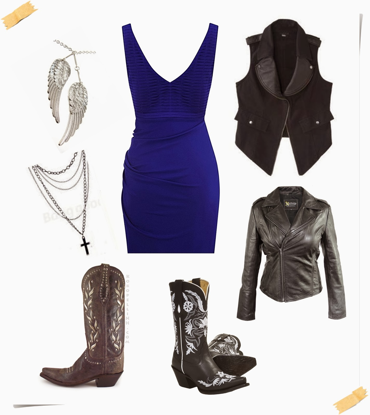 megmade creations what to wear with cowboy boots outfit