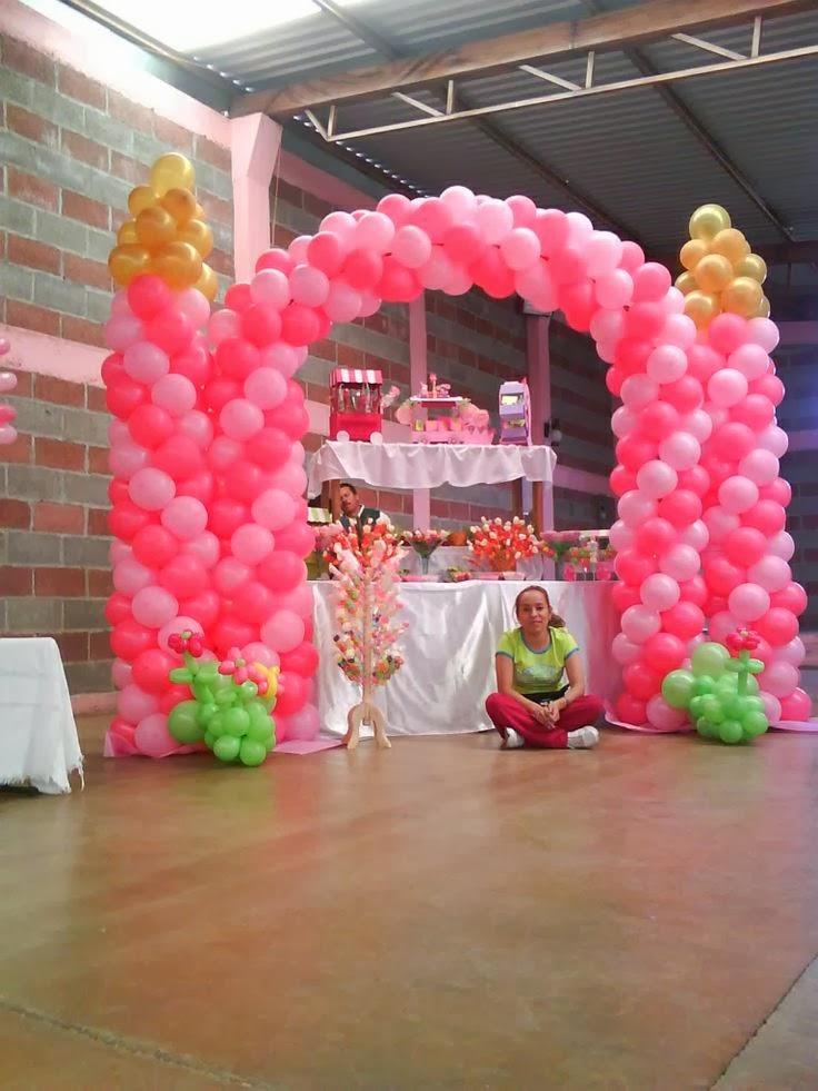 Fotos de decoraci n con globos para fiestas infantiles espectaculares - Decoracion con fotos ...