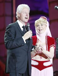 mi bella genio con el presidente clinton
