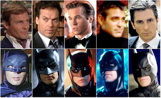 every batman actor, adam west, michael keaton, val kilmer, george clooney, christian bale