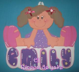 Download El Rincon De Yake Nombres En Fomy
