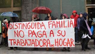 SOMOS sindicalistas apoya al sector de empleadas del hogar