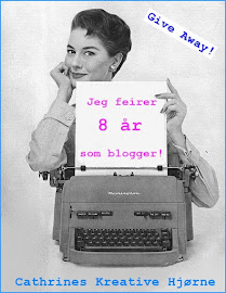 Cathrine feirer 8 år som blogger
