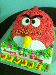 Labuan 3D Special Theme Cake - Angry Bird, Lady Bug, Bee, etc