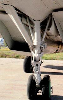 шасси истребителя МиГ 29