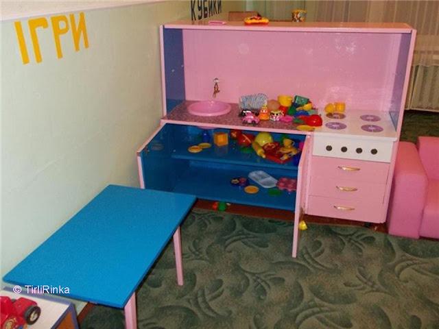 Детская кухня для детского сада своими руками 29