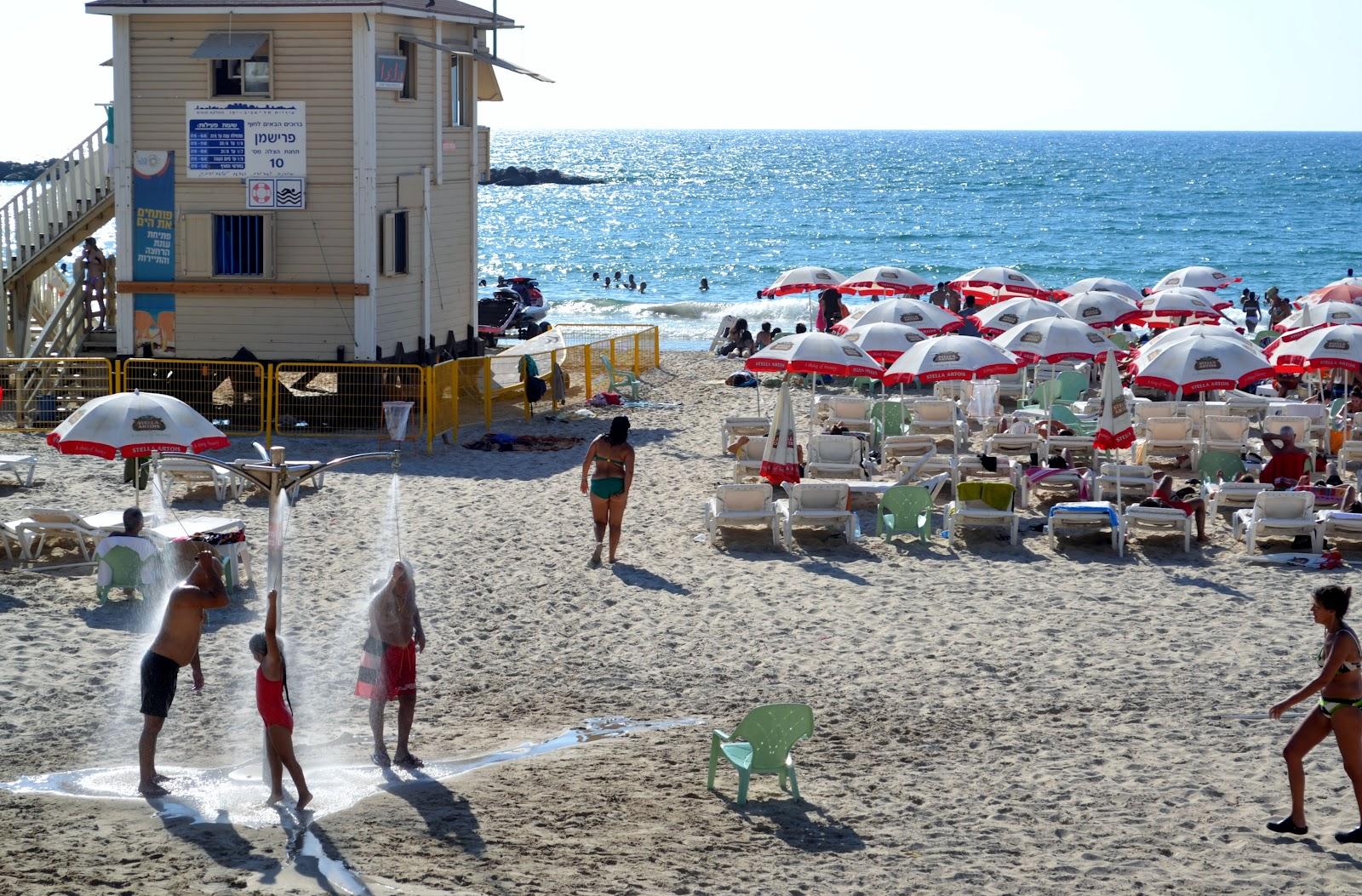 plages israel, FRISHMAN  beach, plage tel aviv